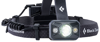 Black Diamond Icon headlamp, 2017 model.