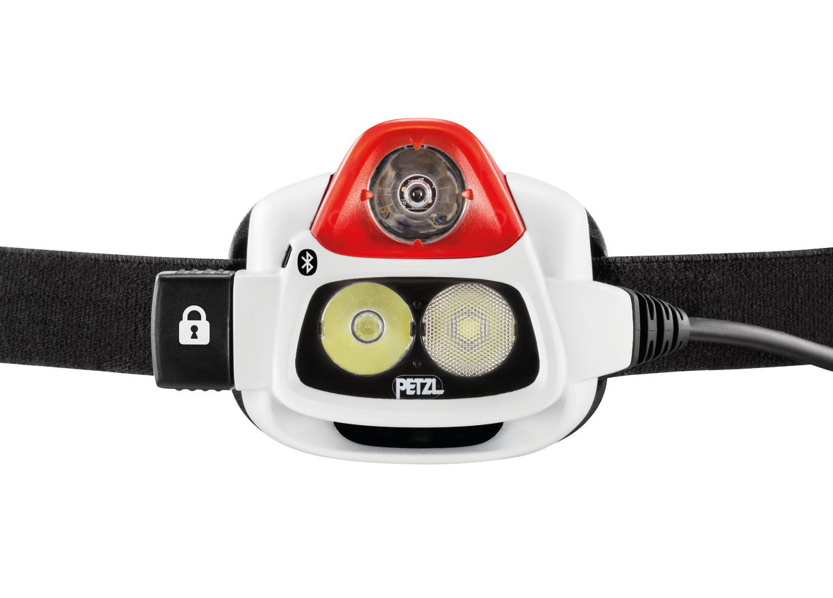 Reactive Lighting Technology in the Petzl Nao series headlamps.