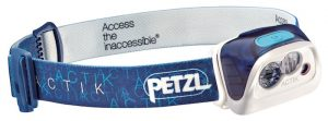 Petzl Actik Headlamp - 300 lumens max light output.