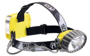 Petzl Duo 5 headlamp.