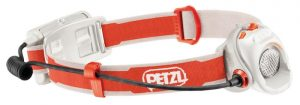 Petzl Myo RXP headlamp with 370 lumens max light output.
