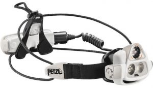 Petzl Nao 2 headlamp with 575 lumens and Reactive Lighting Technology. This headlamp is for any activity.