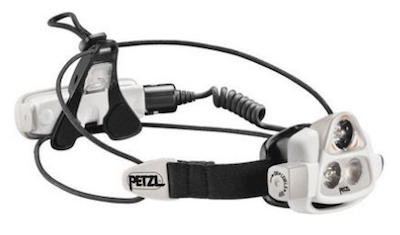 Petzl Nao Headlamp (Nao 2) for runners or other outdoor activities.