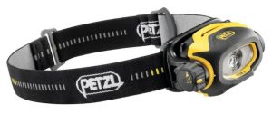 Petzl Pixa 2 headlamp with 80 lumens max light ouput.