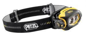Petzl Pixa 3 headlamp with 90 lumens max light output.