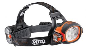 Petzl Ultra Wide Headlamp with 300 lumens max light output.