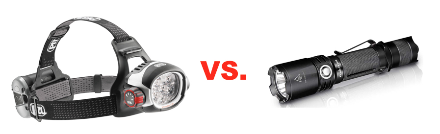 Flashlights versus headlamps, what are the pros and cons of each?