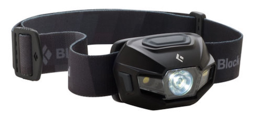 Black Diamond headlamp - very old style, not good for 2017.