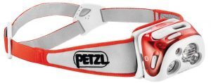 Petzl Reactik Plus headlamp with 300 lumens for 2017.