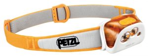 Petzl Tikka XP headlamp with 180 lumens max light output.