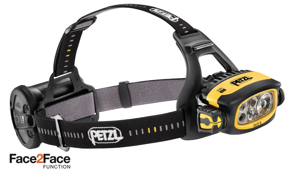 New Petzl DUO S headlamp for 2018 for people working in multi-environments.
